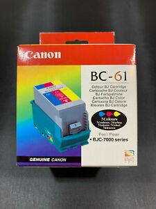 Neu! Canon BC-61 Drucker Tintenpatrone Farbe Für BJC-7000/7100 Serie (BC61)