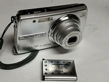 Olympus Stylus 760 Digital All Weather Camera 7.1MP Silver tested working