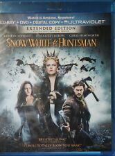SnowWhite & The Huntsman Kristen Stewart Charlize Theron Blue-Ray+DVD+Digital+UV