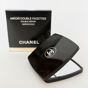 CHANEL Beauty Compact NEW Double-sided pocket MakeUp Mirror in Box Pouch