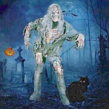 ★ Scary Zombie 3D Mens kostüm Ghost, Halloween Kostüm + Maske S-XL Walking Dead
