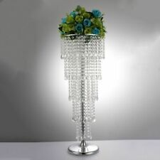 Tabletop Centerpiece Flower Stand Rack Metal Acrylic Event Decoration Holder New