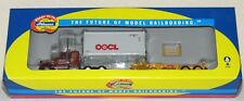 Athearn Kenworth Tractor Truck with 20' OOCL Container & Chassis~New ~HO Scale