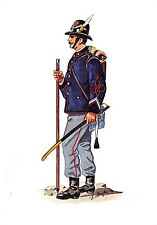 635) 5 REGGIMENTO ALPINI, SERGENTE DI STATO MAGGIORE DIVISA DA MARCIA 1880.