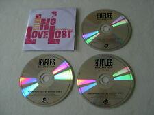THE RIFLES No Love Lost (Deluxe Edition) promo 3CD album