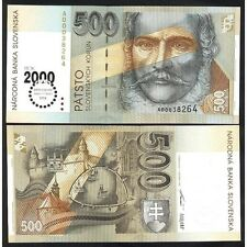 Slovakia 500 Korun 1993  (2000 Millennium) UNC  P 38