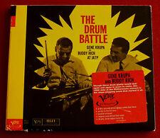 GENE KRUPA & BUDDY RICH - The Drum Battle (1999 7 trk CD album)