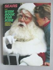 Sears CATALOG - Christmas, 1987 ~~ toy, toys