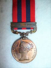 INDIA GENERAL SERVICE MEDAL 1854-95, Bronze issue, clasp, Waziristan 1894-5