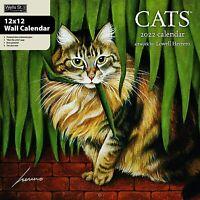 CATS - 2022 WALL CALENDAR - BRAND NEW - LANG ART 01718