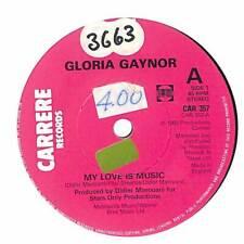 "Gloria Gaynor - My Love Is Music - 7"" Record Single"