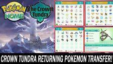 The Crown Tundra DLC Pokemon Pack All Pokemon Shiny!!