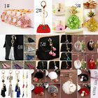 Crystal Rhinestone Keyring Charm Pendant Bag Purse Car Key Chain New Lovely Gift