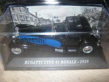 1/43 IXO Bugatti type 41 royale 1929 Voitures d'autrefois Neuve