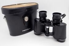 Vintage Pentax 8x30 Field Binoculars 7.5 Degree Model NO.591 in Case #2156MS
