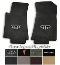 Lloyd Mats Classic Loop 2pc Front Floor Mats for 2004-2006 Pontiac GTO with Logo