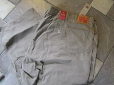 NEW LEVIS 559 RELAXED STRAIGHT JEANS MENS 56X30 TAN BIG TALL FREE SH