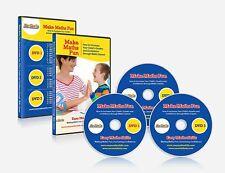 BeGenio Make Maths Fun 3 DVD Set Games Teaching Kit Home Schooling Boys Girls
