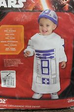 R2-D2 COSTUME 24 Months 24M Toddler Star Wars Droid Rubie's 885310 Halloween NEW