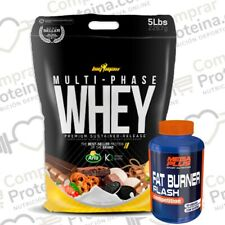 Proteinas Multiphase whey 2267gr Bigman vainilla Shaker
