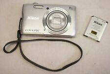 Nikon Coolpix A300 20.1 MP Digital Camera - Silver