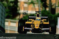 "Formula One F1 Driver Giancarlo Fisichella Hand Signed Photo 12x8"" AC"