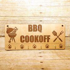 Grill Utensil Rack ,Custom BBQ Sign, Dad Gift, Hooks, BBQ Sign, Kitchen