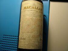 The Macallan  25 Years Old Anniversary Malt 43%  75Cl Distilled 1965 Giovinetti