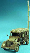 Milicast ACC07 1/76 Resin WWII German Extended Aerial and Radio Set