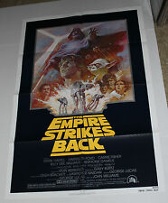 THE EMPIRE STRIKES BACK ONE SHEET MOVIE POSTER R81 STAR WARS
