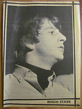 Ringo Starr, The Beatles, Full Page Vintage Pinup