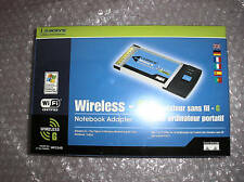 Linksys Wireless G PC Card 802.11G Model: WPC54G - NEW!