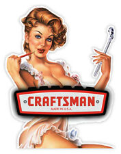 CRAFTSMAN RAT GIRL sexy girl ragazza etichetta sticker 9cm x 12cm