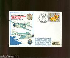 Rn series 1 # 16 20th Anniv. Fairey Gannet in the Rn 1954 - Comm. postal cover