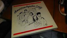 SMITHSONIAN AMERICAN POPULAR SONG VARIOUS ARTISTS 7 RECORD ALBUM BOX SET