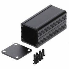 1pcs DIY Extruded Electronic Project Aluminum Enclosure Case Black 50x25x25mm