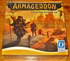 ARMAGEDDON FROM THE GROUND UP -Strategy Board Game Queen Games NEW/SEALED/SHIP$0