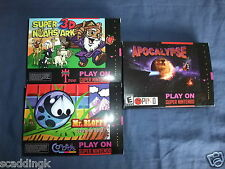 SNES Games Mr Bloppy Super Noahs Ark Apocalypse II 2 Piko New Pal Vers Complete