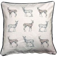 "Cushion  Pad Filled Sofa Pre Filled Cushion DEER Stag 008255 18""x18"""