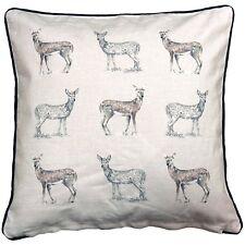 "Cushion  Pad Filled Sofa Pre Filled Cushion DEER Stag 008255 18""x18"""