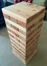 Life Size stacking block game, outdoor game. Fun Game. Kids activity. Blocks