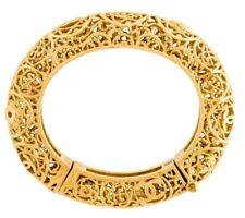 CHANEL Métiers d'Art Paris Runway Gold Cuff Bangle Bracelet BYZANCE Opens 2011