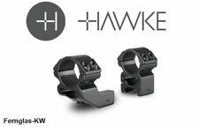 HAWKE 22124 Ringmontage 25,4 mm Weaver Hoch 1 Zoll Versatzgröße