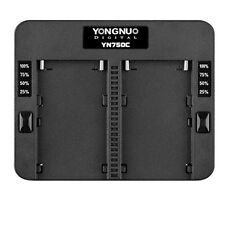 Yongnuo YN750C Dual Battery Charger F SONY NP-F570  NP-F770  NP-F970 NPF975 970