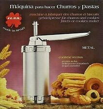 Churro Maker Churrera with assorted Nozzles - Imported from Spain