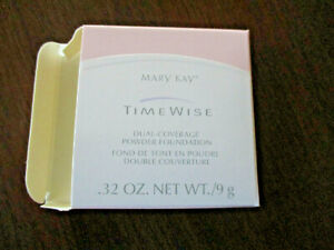 Mary Kay Timewise Dual Coverage Powder Foundation ~Bronze 607~ #8930  NIB