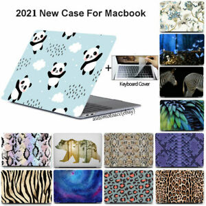 3in1 Animal Colorful Case For Macbook Pro Air 11 12 13'' M1 15 16 Keyboard Cover