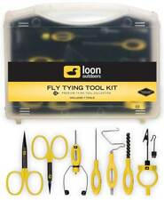Loon Fly Tying Tool Kit - (7 Premium Tools + Case)  Sale and free US Shipping