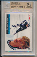 1991 Score Canadian English Wayne Gretzky (The Franchise) (HOF) (#312) BGS9.5