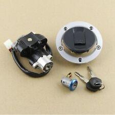 Ignition Switch Gas Cap Seat Lock Key for Suzuki Bandit GSF 650 1200 1250 05-12